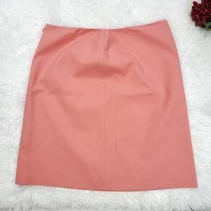 Eccoci Pencil Skirt Size 18 Coral Color